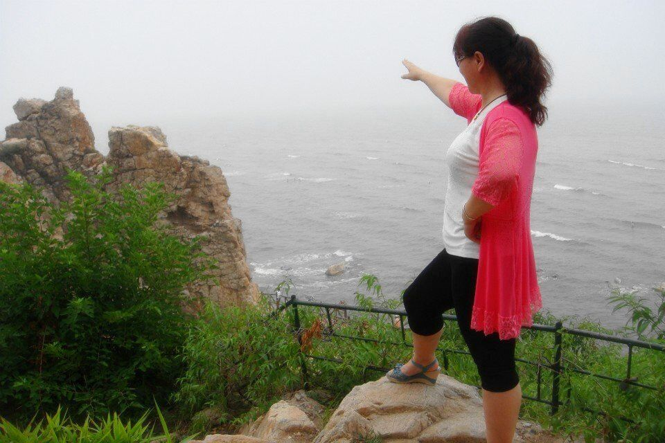 鸽子窝公园—遥望大海